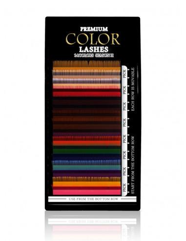 Extensions de cils couleurs/Mutlicouleurs 14,00€ Extension de Cils Couleurs