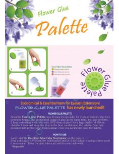Fleur palette/Colle extension cils 6,00€ Matériel Extension de cils