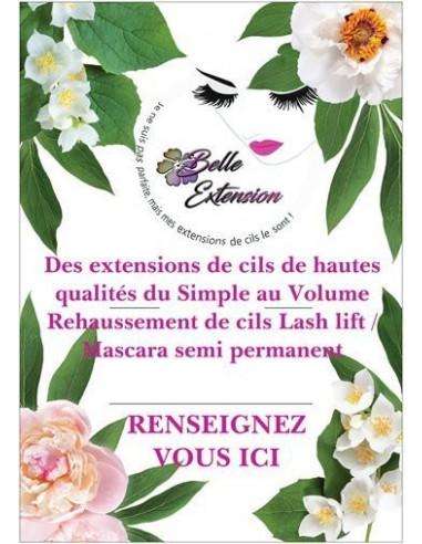 Poster Belle Extension de Cils 25,00€ Poster/Dépliants