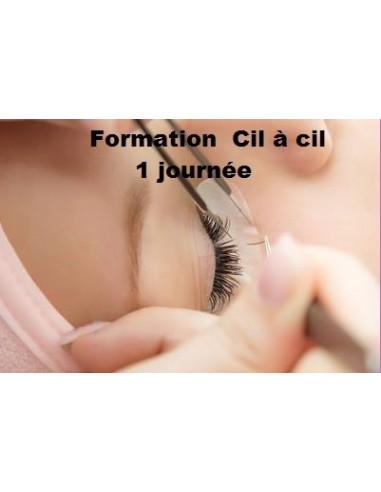 Formation Extension de cils 1 Journée ( Comptant ou 50 %) + Kti 200,00€ Formation