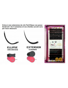 Mix Extension de cils Flat Ellipse ( 100% Douceur ) 15,00 € Accueil