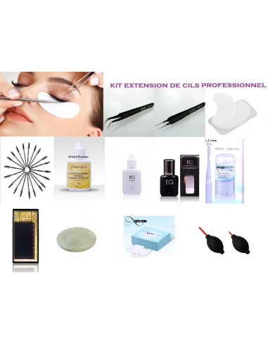 Kit Extension de Cils COMPLET Taille Mix 195,00 € Kits Extensions